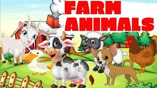 Learning about farm animals for preschoolers