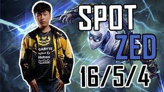 Spot trổ tài khoe thông thạo 7 với Zed [GAM Esports Highlight]