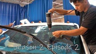 F350 windshield Tint, RS3 gets PPF, customer drops off Jaguar F-Pace | S2E2