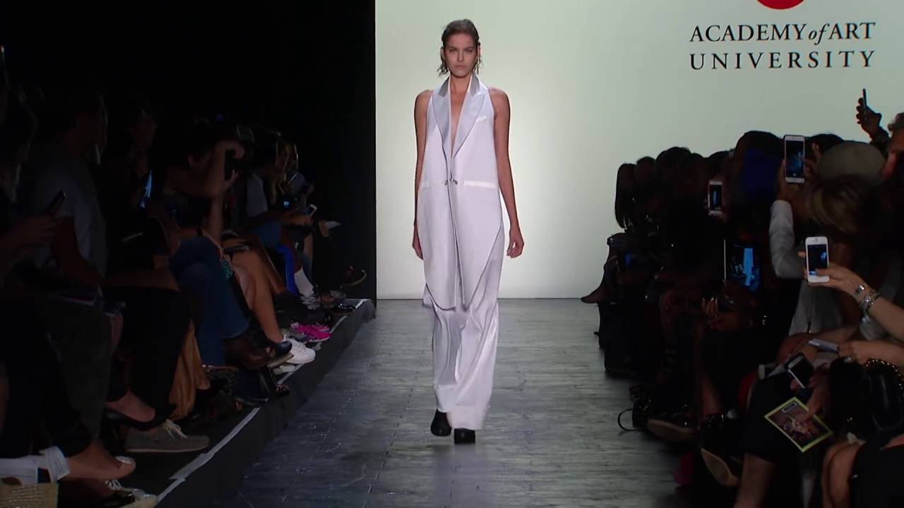 New York Fashion Week Spring 2016 Collections Academy Of Art University Youtube