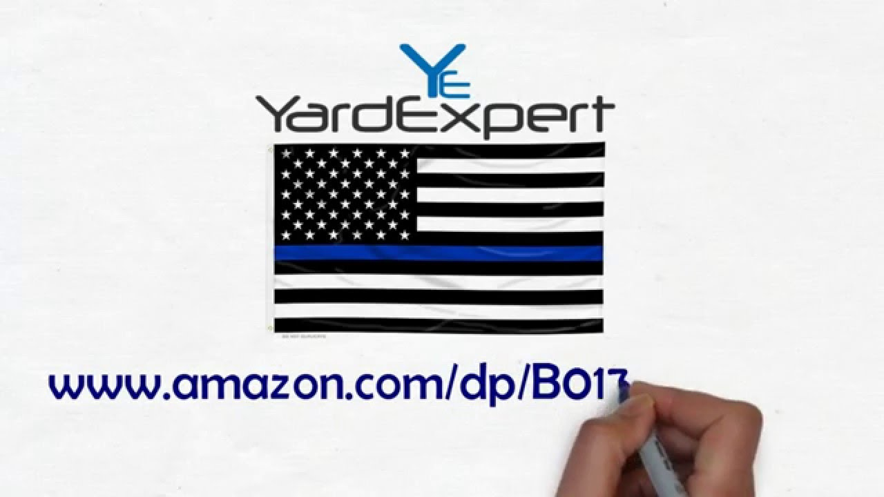 Thin blue line american flag youtube thin blue line american flag biocorpaavc Image collections