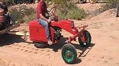 David Bradley Tri-Trac Tractor At Apache Junction, Arizona 3-10-12