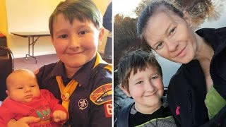 8-Year-Old Boy Saves Mom From Choking Days After Dad Died In Car Crash