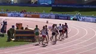 2010, Darren McBrearty, World Junior Championships, Moncton, 1500m men, heat 1