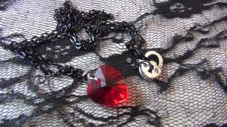 Castle On A Cloud Collection: Red Heart Crystal Thumbnail
