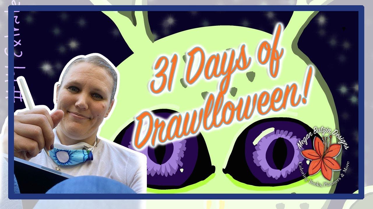 31 Days of Drawlloween!