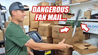 Freedom Fan Mail EP.4 - Our First INJURY During Fan Mail and it Wasn't Cleetus!