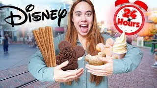 ONLY Eating Disney Desserts For 24 Hours!