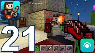 Pixel Gun 3D - Gameplay Walkthrough Part 21 - X-Mas, X-Mas Destroyer (iOS, Android)