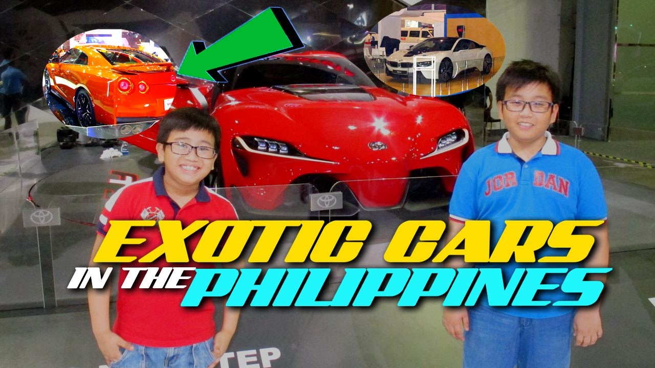 Super Cars In The Philippines Nissan Gtr Toyota Ft1 Bmw I8 More