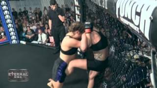 ETERNAL MMA 10 - MICHELLE LABROSSE VS AMY PREWITT - WMMA FIGHT VIDEO