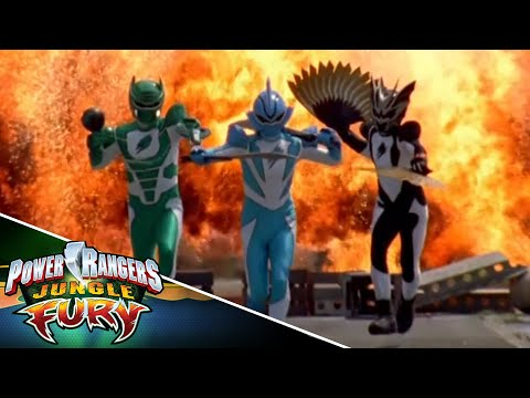 Power Rangers Jungle Fury Alternate Opening #5
