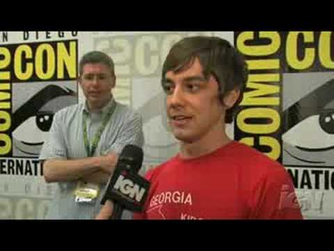 SDCC 08: Land of the Lost Jorma Taccone