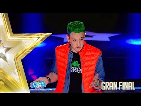 'The Roker' hace la magia del futuro   Gran Final   Got Talent España 2017
