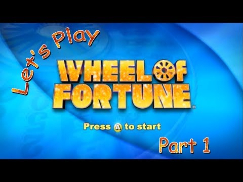 Let's Play Wheel of Fortune (Wii) - Part 1