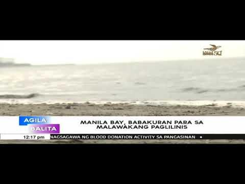 Manila Bay, babakuran na ng DENR para sa mas malawakang paglilinis
