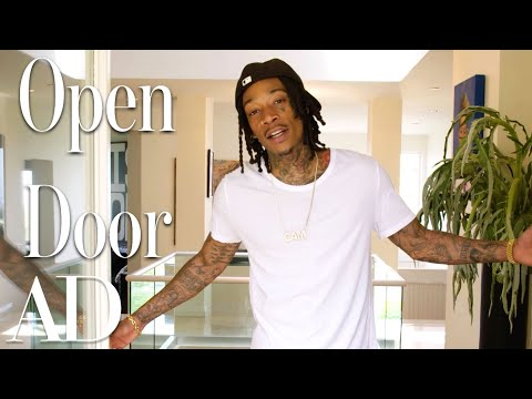 Inside Wiz Khalifa's $4.6M L.A. Mansion & Recording Studio | Open Door | Architectural Digest