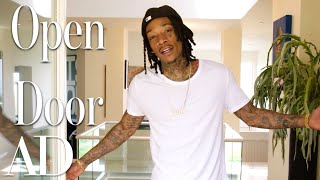 Inside Wiz Khalifas $4.6M L.A. Mansion \u0026 Recording Studio  Open Door  Architectural Digest