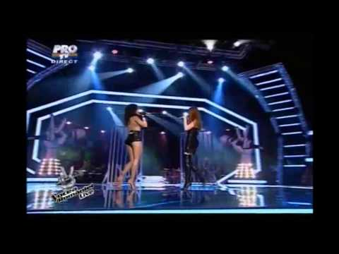 t.A.T.u. live in Romania - THE VOICE 2012 - All The Things She Said + All About Us (HIGH QUALITY)