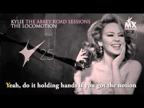 [HD] THE LOCOMOTION (Karaoke - The Abbey Road Sessions) - Kylie Minogue
