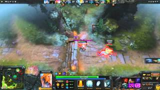 DotA 2 The Most Horrible Slow Death Ever