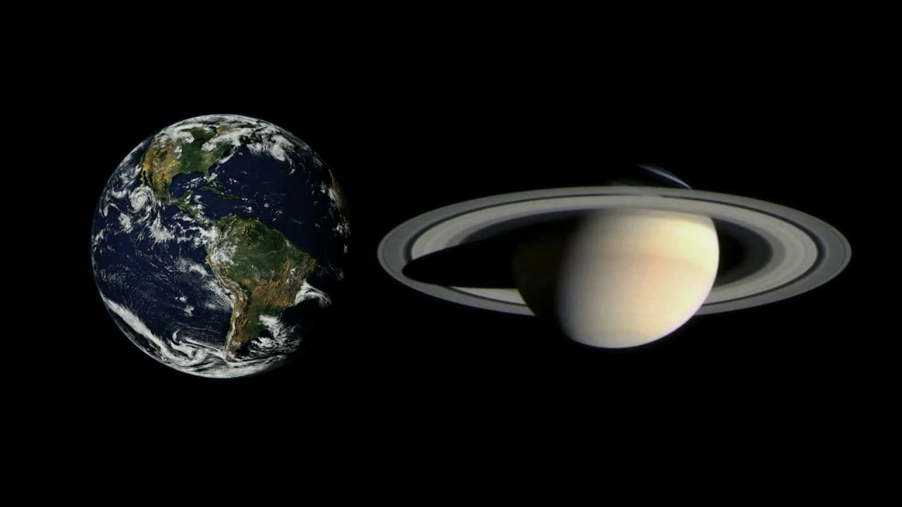 Planet Sounds: Saturn Vs. Earth EM Noise (8 Hours) - YouTube