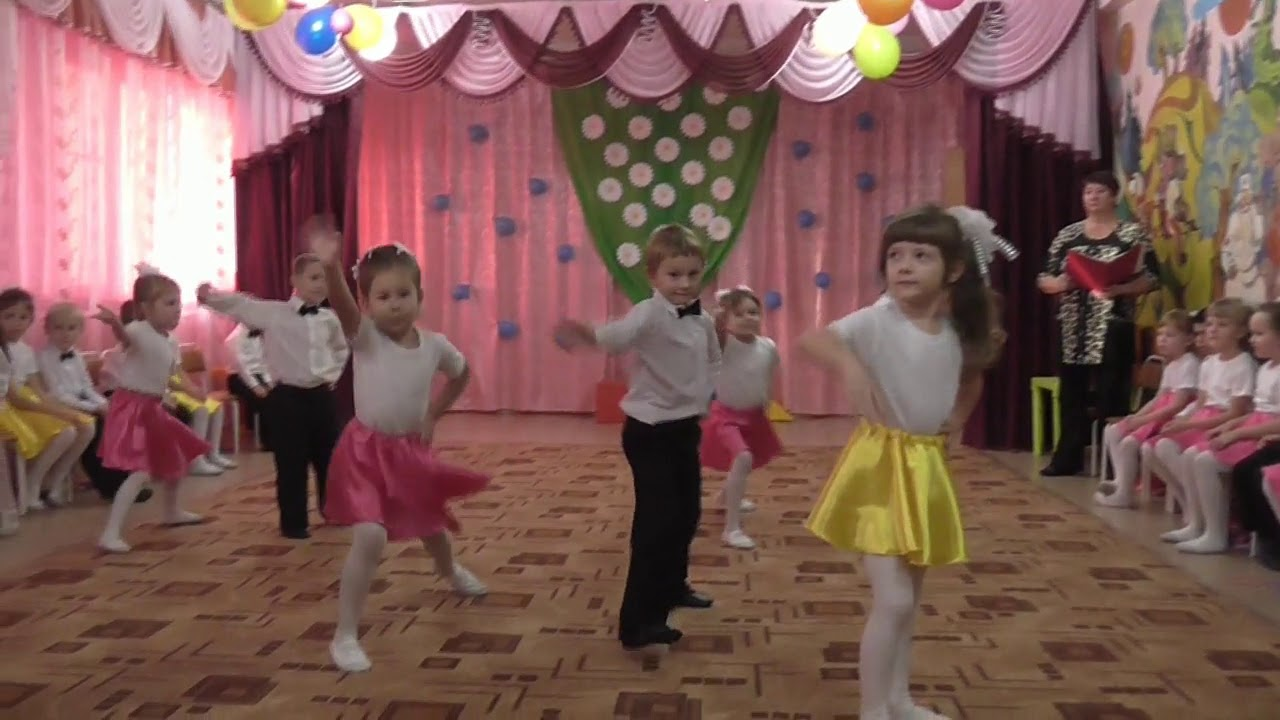 "Танец: ""Бананамама"""
