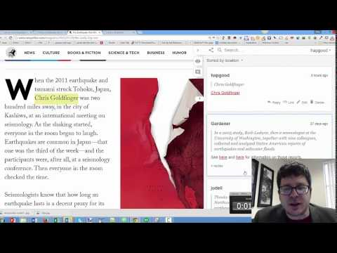 Annotation as Bridge between Web and Wiki