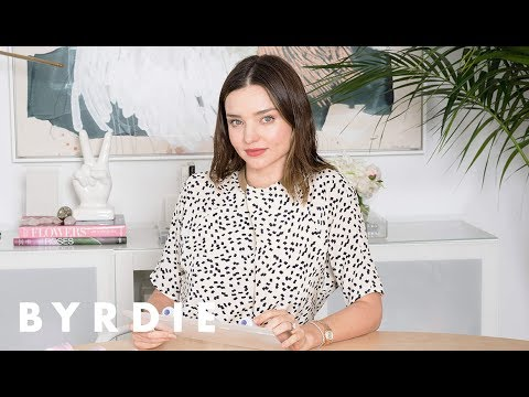 Miranda Kerr's Five Beauty Essentials | Just Five Things | Byrdie