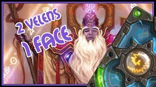 2 Velens 1 face | Resurrect priest | The Boomsday Project | Hearthstone