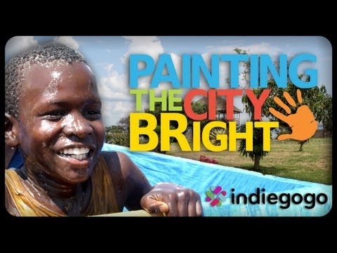 Painting the city bright with BIG hearts and BIG smiles