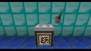 Как сделать стиральную машину в minecraft
