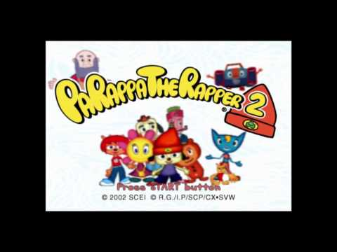 Parappa The Rapper 2 Remastered PS4 - Title Theme Music -- I Gotta Believe