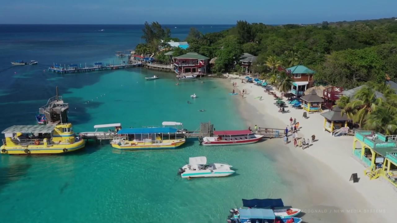 West Bay Beach (Intro) | Roatan, Honduras - YouTube