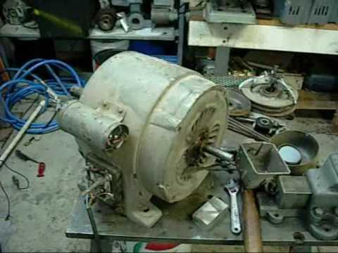 Brook RX9 2HP Single Phase Capacator Start motor  YouTube