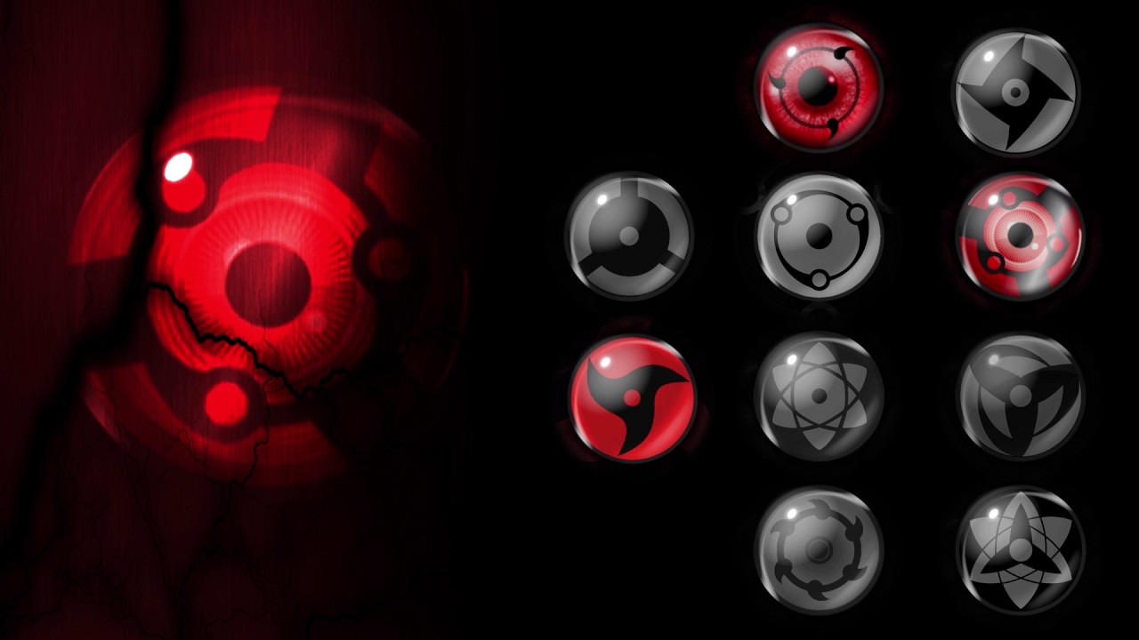 Sharingan 3D Live Wallpaper