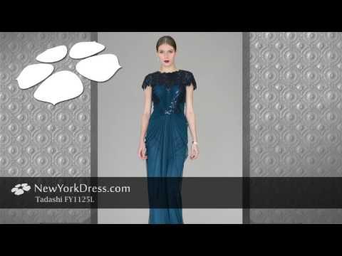 Tadashi FY1125L Dress - NewYorkDress.com