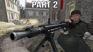 Call of Duty 2 Gameplay Walkthrough Part 2 - German Campaign - Arnhem