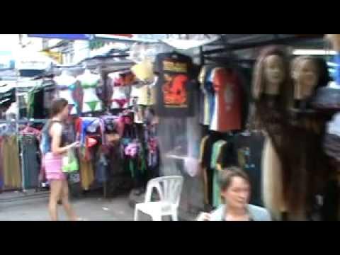 Khaosan Road Bangkok - Bangkok Shopping for the ladies