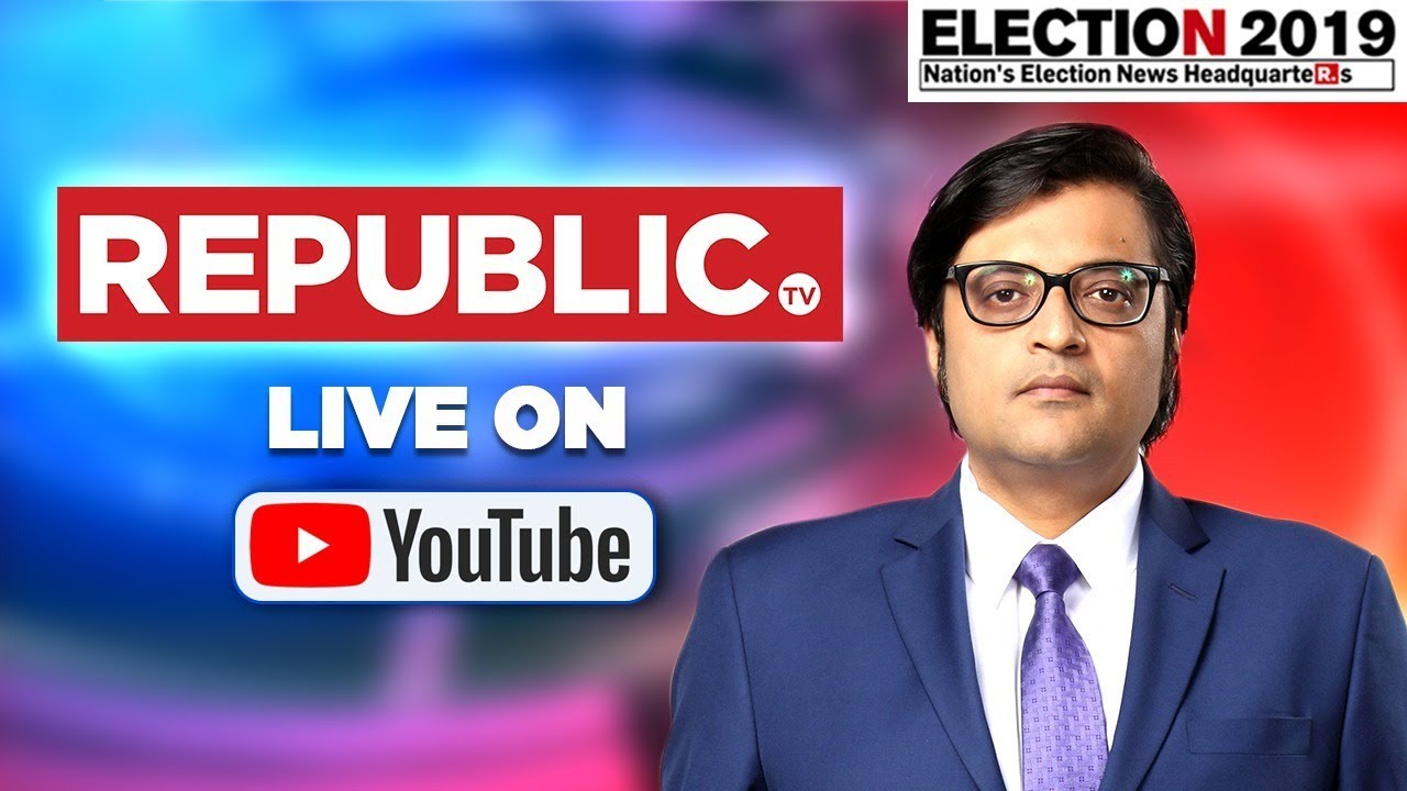 Watch India's Biggest EXIT POLL With Arnab Goswami Live | Republic TV LIVE