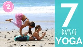 Day 2 | 7 Day Yoga Challenge | Yoga for Beginners