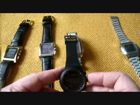 Настройка наручных часов ALFAJR по координатам
