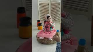 스튜디오 돌사진 한살 아기 한복 성장앨범 쌍커풀 아기