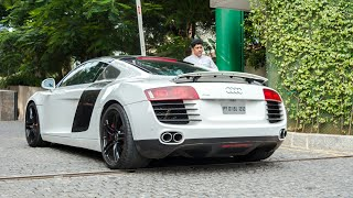 LOUD Audi R8 with Capristo exhaust!!! | Bangalore | #18