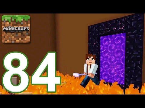 Minecraft: PE - Gameplay Walkthrough Part 84 - 1 HP Heart (iOS, Android)
