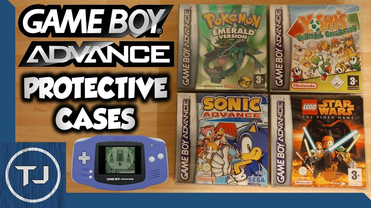 GameBoy Advance Box Protectors! (Plastic Protective Cases) - YouTube