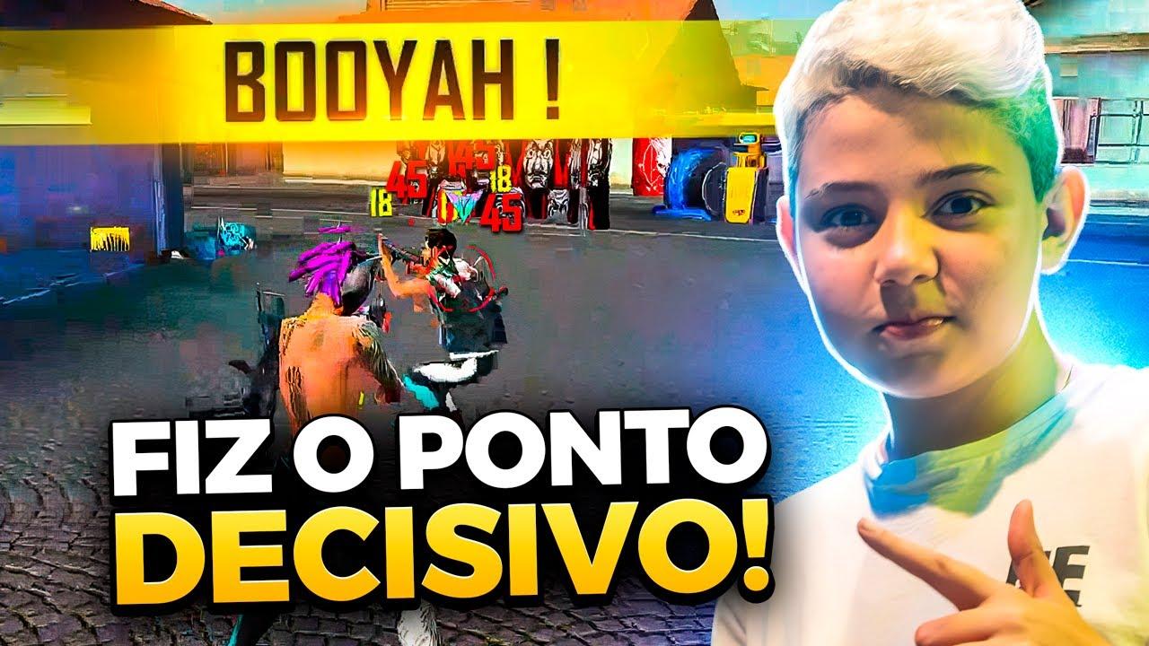MOSTREI PORQUE SOU O MELHOR DO MUNDO NO 4v4!! FREE FIRE