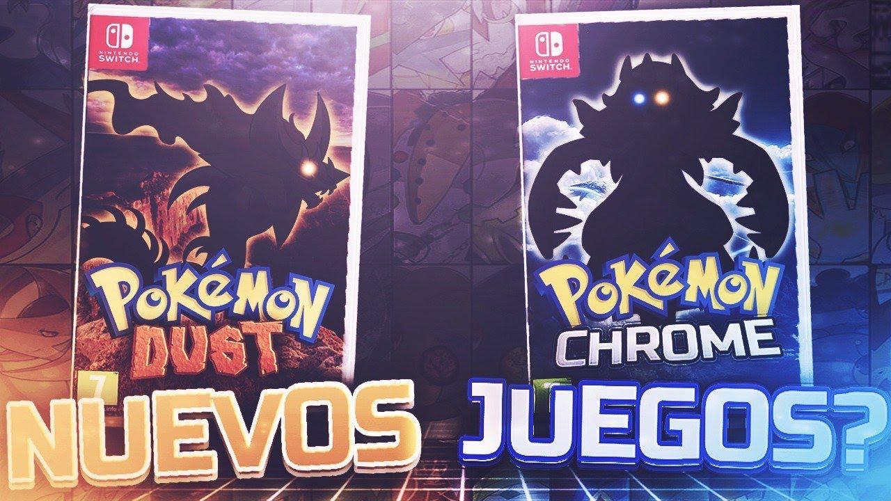 Pokemon Chrome Y Pokemon Rust Nuevos Juegos De Pokemon Switch