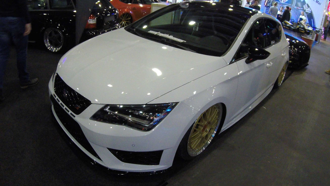 seat leon cupra 280 white colour tuning nice bbs. Black Bedroom Furniture Sets. Home Design Ideas