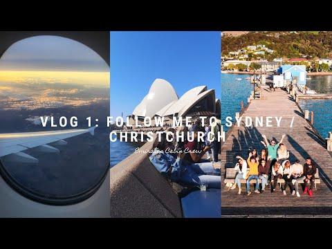 Vlog 1: Sydney & Christchurch Trip | Emirates Cabin Crew
